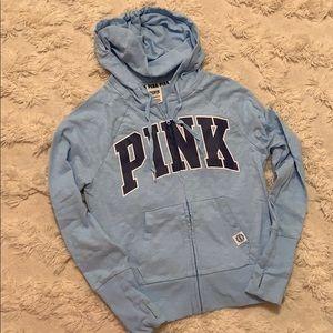 VS PINK Full Zip Hooded Sweatshirt - size XS